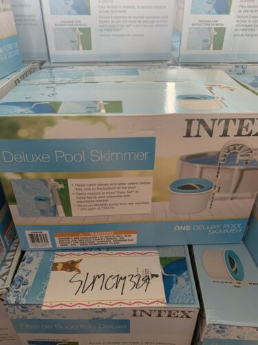 Intex Swimming Pool Deluxe Surface Skimmer Wall Mount Above Ground USA Seller