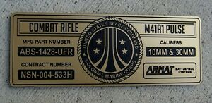 CUSTOM-ALIENS-M41A1-PULSE-RIFLE-SPECIFICATIONS-ID-PLATE-PROP-ARMAT