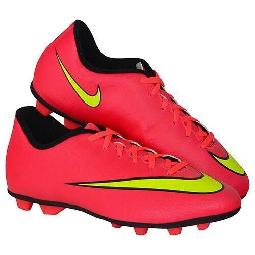 separation shoes 7108c 145d5 Mens Nike Mercurial Vortex II Fg-r Red 4 M for sale online   eBay