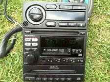 2002 SUBARU LEGACY AM/FM RADIO CASSETTE 6 CD PLAYER W/AUTO HEAT CONTROL UNIT OEM