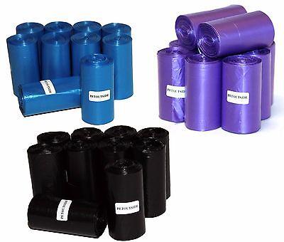 8050 DOG PET WASTE POOP BAGS BLUE 350 REFILL ROLLS CORELESS USA PetOutSide USA