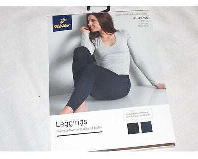 Damen-Hose Leggings Strumpfhose marine Größe 36/38 - 48/50 TCM / Tchibo NEU