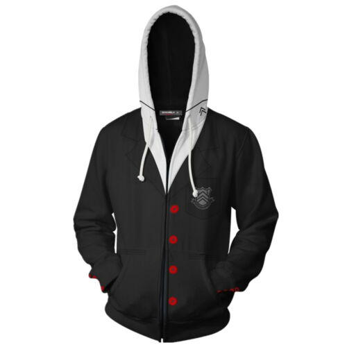 Women Zipper Sweatshirt game Persona 5 Anne Takamaki Jackets Hooded Coat Hoodies