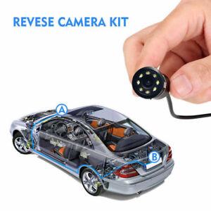 Car-Backup-Camera-Rear-View-Reverse-170-Waterproof-8-LED-HD-CCD-Night-Vision