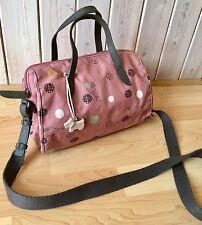 Radley Flowers & Dogs Oilskin Crossbody Messenger Saddle Shoulder Handbag Bag