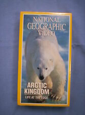 National Geographic Video - ARCTIC KINGDOM: Life at the Edge (VHS, 1995 TV) NTSC