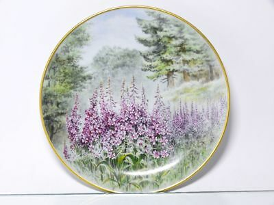 """Antiques Fashion Style Emperor Collection Plate """" Willowherb """""""