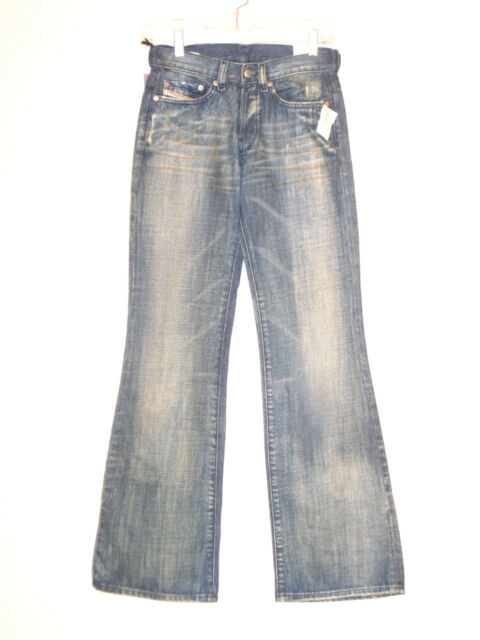 a82dcdf9 $149 DIESEL INDUSTRY DAZE Jeans Womens Denim Pants Size 25 Made In Italy  W26 L32