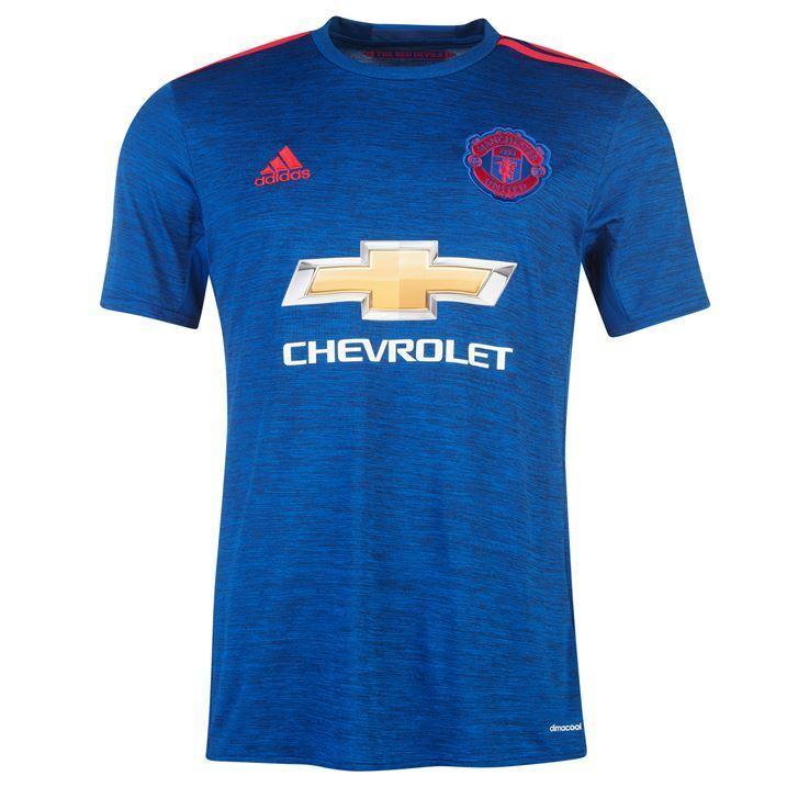 Adidas Manchester United Away bambini t-shirt calcio 2016 17
