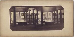 Karslbad Karlovy Vari Repubblica Ceca Foto Stereo Vintage Albumina Ca 1860