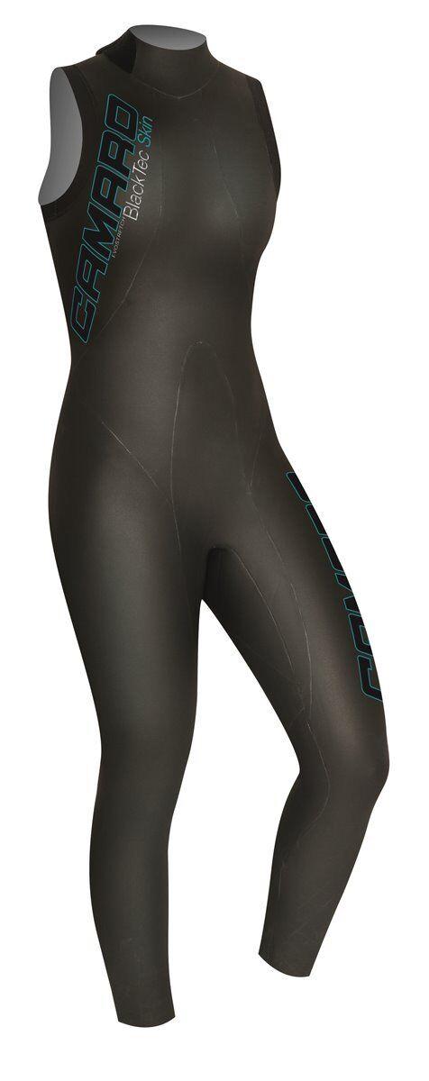 Camaro negrojoec señora 7 8 Shorty Speedskin Triathlon neopreno traje baño