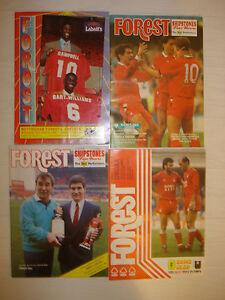 Nottingham-Forest-v-Chelsea-1987-88-Football-Programme