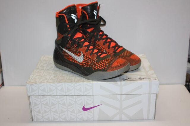 3ef60b4e7553 ... Nike Zoom Kobe IX 9 Elite Sequoia Crimson Shoes Size 10.5 Strategy  630847-303 ...
