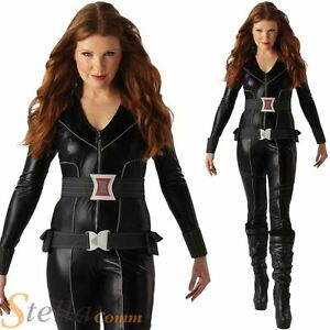 image is loading ladies black widow costume avengers superhero adult fancy