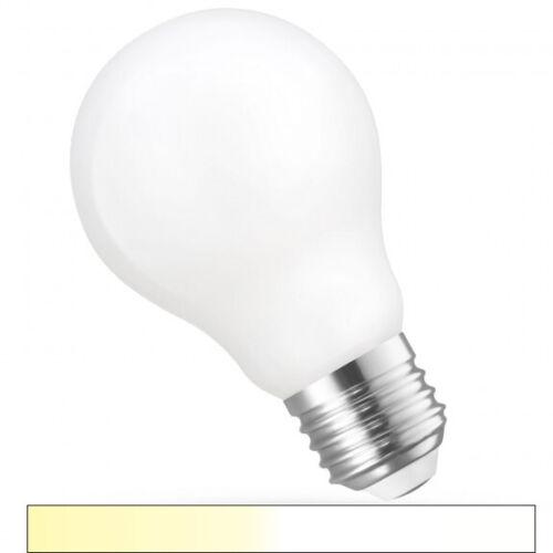 #7044 SMART LED Lampe WiFi ALEXA Sprachsteuerung AGL 5 Watt CCT E27 matt