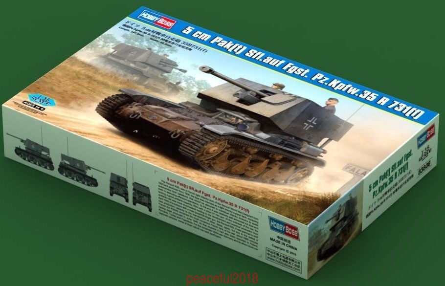 Hobbyboss 1 35 83808 Scale German Pz.kpfe.35 (T) Model Kit