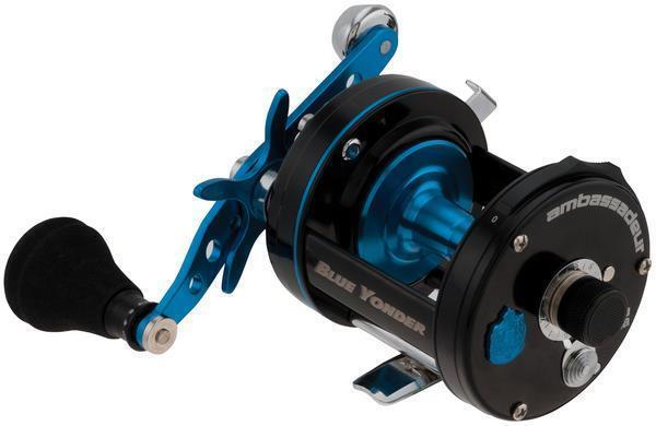 Abu Garcia 6500 blue Yonder Carretes Multiplicadores para Pesca de Mar   1324534