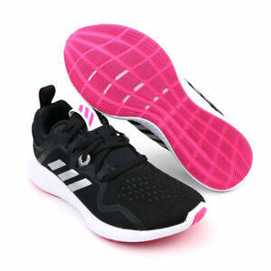 Details about Women Adidas Edgebounce Running Shoes Black Pink Adidas BB7563 NEW