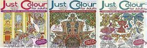 Juste-Couleur-pour-Adultes-3-Livre-Ensemble-Question-6-8-Neuf-Envoi-GB