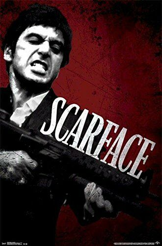 MOVIE POSTER 22x34-3235 SCARFACE