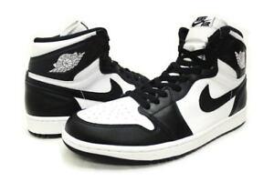 New - Nike Men s Air Jordan 1 Retro High OG (555088 010) Black White ... 98a7ae14d