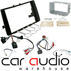 Audi S3 8P Car Radio Double DIN Facia Fascia Aerial Keys /& Cage Kit CT23AU02A