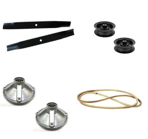 Deck Rebuild Kit BLADES PULLEYS SPINDLES BELT Toro TimeCutter Z4200 Z4235 Z4220