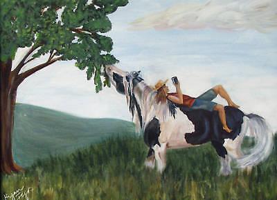Kil Chohawno~Dancing Wizard ~ Gypsy Vanner  8X10