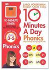 10 Minutes a Day Phonics KS1 by Carol Vorderman (Paperback, 2014)