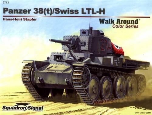 Panzer 38 22224// Squadron Signal t - TOPP HEFT Walk Around No 13