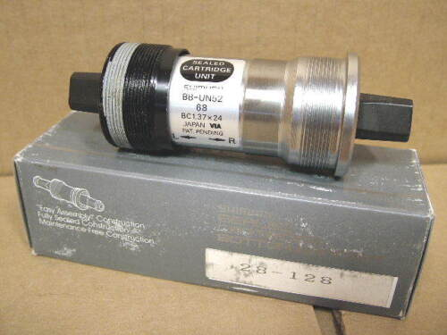 New-Old-Stock Shimano Bottom Bracket...68x107mm 50-Series Made in Japan
