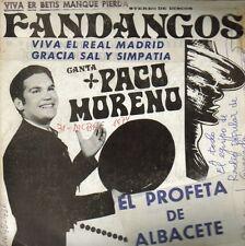 PACO MORENO-VIVA EL REAL MADRID + GRACIA SAL Y SIMPATIA + CASTILLA LA NUEVA +