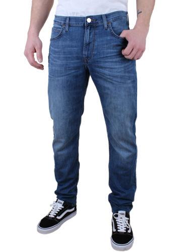 Lee Homme Jeans Arvin-Regular Fuselé-Bleu-Blue Light