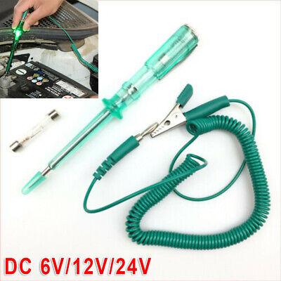 Car Truck Circuit Fuse Voltage Tester Test Light Probe Pen Pencil DC 6V//12V//24V