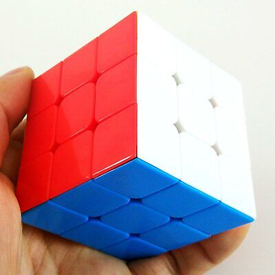 Umoristico Shengshou Rainbow 3x3x3 / 3 Layers Magic Cube Puzzle - Stickerless Alta Qualità E Poco Costoso