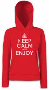 Gardez Felicitous et de Happy calme Damen Kapuzenpullover Fun votre Hoodie Lucky profitez Uq7rUf