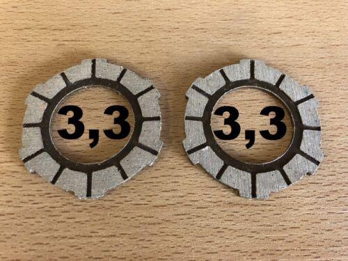 2 Kupplungslamellen 3,3 Sachs 504 505 Hercules Prima 2 3 4 5 Reibscheibe Optima