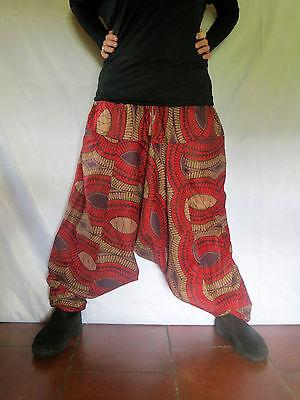 Sarouel Arambol Africain Rouge - Mixte