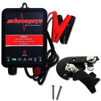 Electric Fence Energiser Shockrite Srb06 0.6j & Isolator Switch
