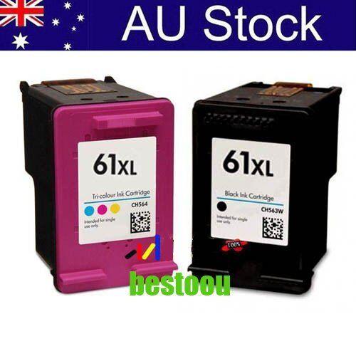 Ink Cartridges for HP 61 XL Envy 4500 4504 5530 Officejet 2620 4630 printer N9