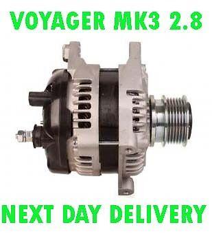 Chrysler Voyager MK3 2.8 2000 2001 2002 2003 2004 2005 /> 2008 Alternador