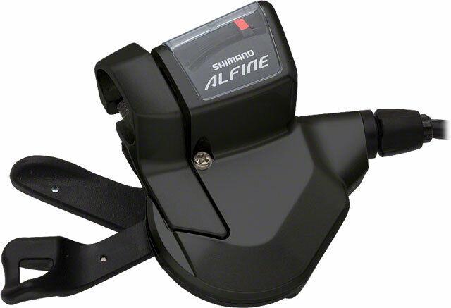Shiuomoo Alfine S700 11 velocità Rapidfire Cambio Nero