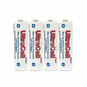 4 pcs Pack Dummy Battery AA 2A Size Conduct Conductor Electric ...