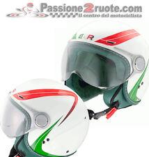 Casco jet Bkr Italia moto scooter atv quad helmet casque jethelm helme