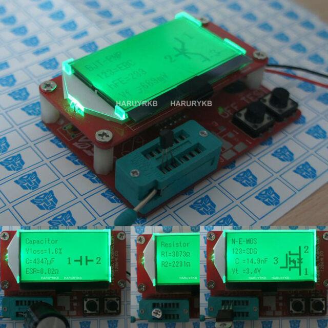 2014 Mega328 Transistor Tester Diode Triode Capacitance ESR Meter MOS/PNP/NPN 5