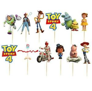 TOY-STORY-4-CUPCAKE-CAKE-TOPPER-TOPPERS-party-balloon-dECORATION-SUPPLIES