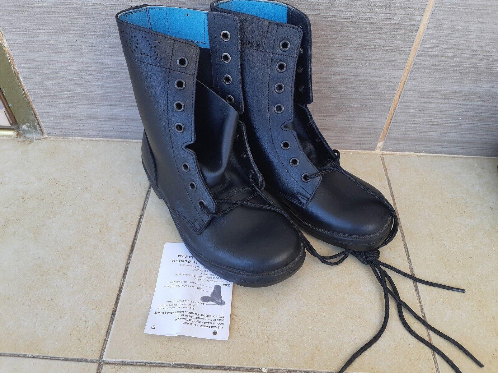 IDF IDF IDF ARMY ZAHAL botas zapatos MILITARY Cuero Work botas  BRILL  Talla  38  us 6  tiendas minoristas