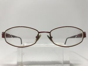 7365404ecf Image is loading Bulova-Eyeglasses-Tacoma-52-17-135-Burgundy-Half-