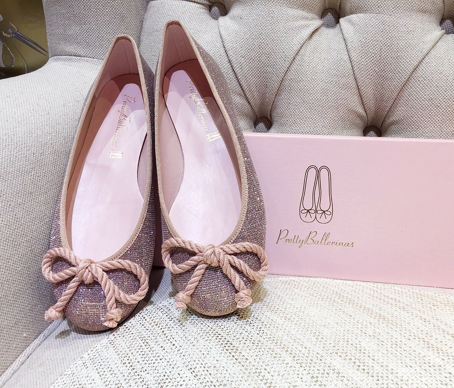 Brand New Authentic Pretty Ballerinas pinkrio Pink size EU 37.5