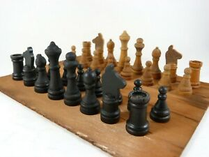 Vtg Coca-Cola Chess Pieces from Promotional Game Set by Milton Bradley Hal-Sam